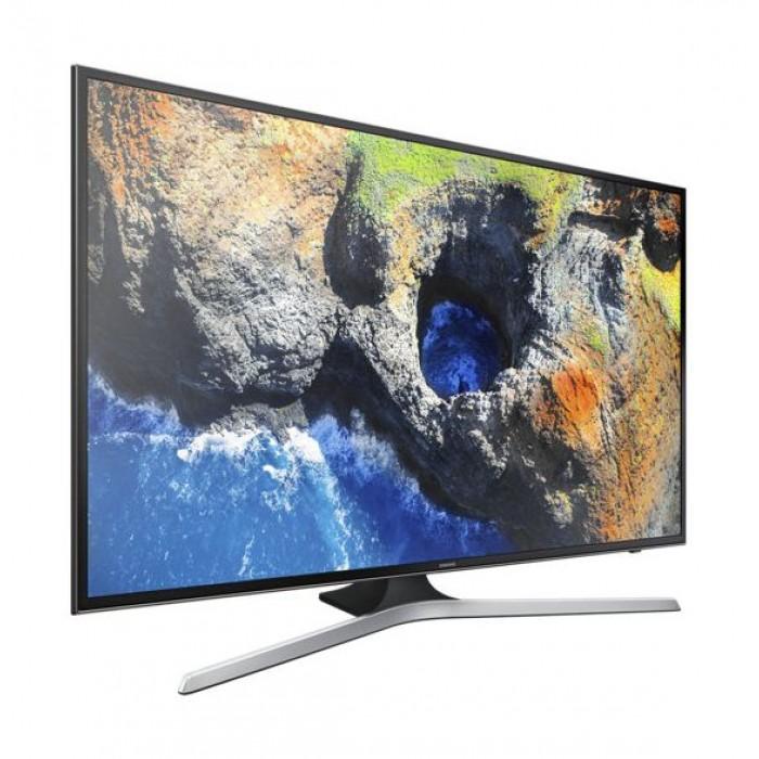 380dd44db547 Samsung 43-inch 4K LED Smart TV (UA43MU7000) - Left Side View. Samsung ...