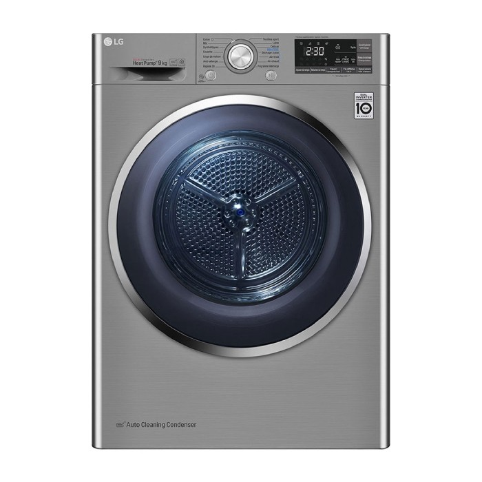 LG 9Kg Dual Inverter Dryer   Xcite KSA