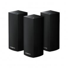 Linksys Velop Intelligent Mesh WiFi System, Tri-Band, 3-Pack ( WHW0303B-AC6600) - Black