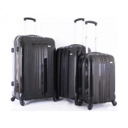 Giordano Set Of 3 Luggage (25-051) - Black