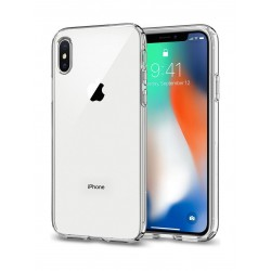 Spigen Liquid Crystal Case For iPhone XS (063CS25110) - Crystal Clear