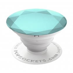 Popsockets  Glacier Metallic Diamond Phone Stand and Grip (101676) - Blue
