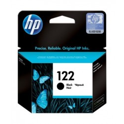 HP Ink 122B for InkJet Printing 120 Page Yield - Black (Single Pack)