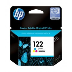 HP Ink 122T for InkJet Printing 100 Page Yield - CMY (Tri Pack)