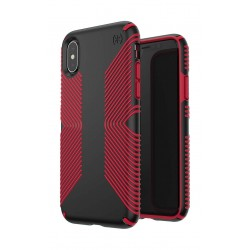 Speck Presidio Grip Case For iPhone X - Red