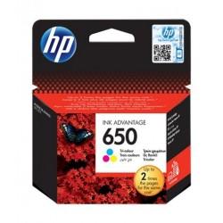 HP 650 Cartridge CZ102AE - Tri Colour