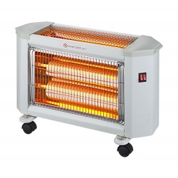 Wansa Radiant 2400W 3 Lamps Electric Halogen Heater - AE-4001