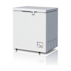 Wansa Chest Freezer 5 Cubic Feet 142 Litres - White (WC-142-WTC6(K))