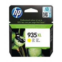 HP Ink 935XLY for InkJet Printing 825 Page Yield - Yellow (Single Pack)