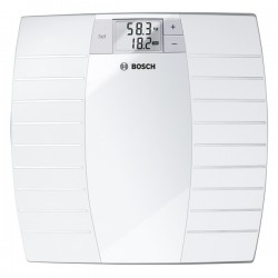 Bosch 150KG Electronic Weighing Scale - White (PPW3120)