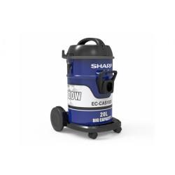 Sharp 1800W Drum Type Vacuum Cleaner - Blue EC-CAS1820-Z