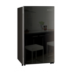 Daewoo 4 Cubic Feet Mini Bar Refrigerator - Black FR-15B
