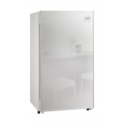 Daewoo 4 Cubic Feet Mini Bar Refrigerator - White FR-15A