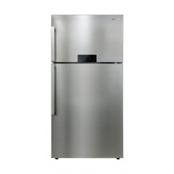 Daewoo 19.8Cft. Cubic Feet Top Mount Refrigerator - Stainless Steel (FN-G715NTV)