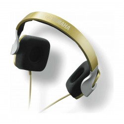 Yamaha HPH-M82 On-Ear Wired Headphone with Remote/Mic - Gold