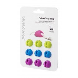 BlueLounge Cable Drop Mini- 9 Pack - Bright