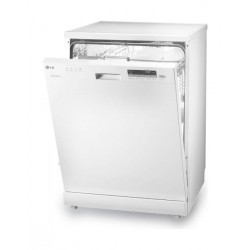 LG Dishwasher 6-Programs 14-Settings Freestanding Dishwasher (D1450WF1) – White