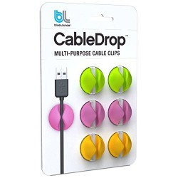 BlueLounge Cable Drop Bright 6 Pack