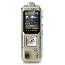 Philips DVT6500/00 4GB Voice Tracer with 3 Mics High Fidelity Recording
