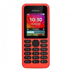 Nokia 130 Dual SIM Feature Phone 1.8-inch - Red