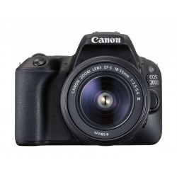 Canon EOS 200D 24.4MP Wi-Fi Digital Camera + EF-S 18-55mm f4 IS STM Lens