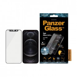 Panzer Glass iPhone 12 6.1-inch Screen Protector -  Black