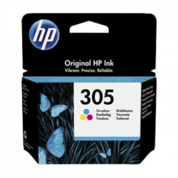HP 305 Original Tri-Color Ink Cartridge (3YM60AE) in Kuwait | Buy Online – Xcite