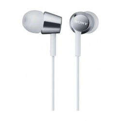 Sony In-Ear Headphone With Mic (MDR-EX150/W) – White
