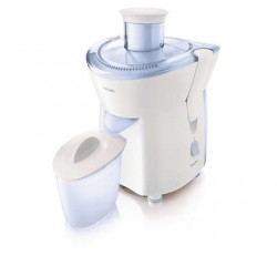 Philips 220W Basic Juicer - White/Blue HR1823/05