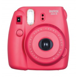 Fujifilm Instax Mini8 Instant Film Camera - Raspberry