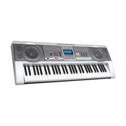 Wansa 61 Keys Musical Keyboard (MK-805) - Silver