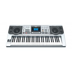Wansa 61 Keys Musical Keyboard (MK-810) - Silver