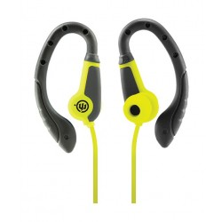 Wicked Fight Over-ear Wired Earphone with Microphone - Lime