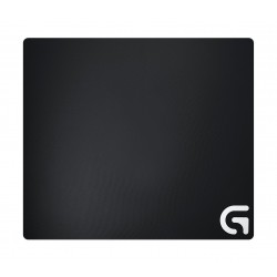 Logitech G640 Cloth Gaming Mouse Pad (943-000090) - Black