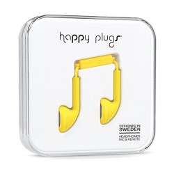 Happy Plugs Earbud Wired Earphones - Yellow