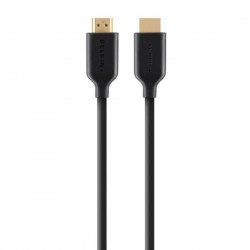 Belkin Gold Plated 10M HDMI Cable with Ethernet - Black F3Y021bf10M