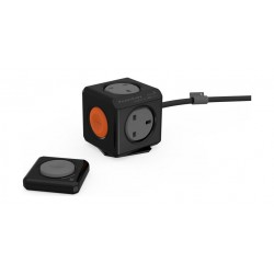 Allocacoc PowerCube Remote Extended + PowerRemote - Black