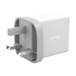 Anker PowerPort Dual USB Home Charger with Micro USB Cable - White