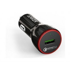 Anker PowerDrive+ 1 with Quick Charge 3.0 Car Charger - Black