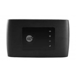 ZTE Black MF970 4G LTE Wireless Router - Front View