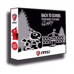 MSI Back To School Bundle Pack of 7 MSI Items