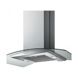 Baumatic 90cm Glass Cooker Hood (BMECH9IGLSS)
