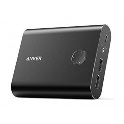 Anker PowerCore+ 13,400 mAh 3.0 Quick Charge Power Bank (A1316H11) - Black