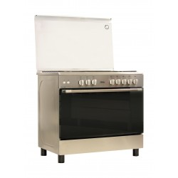 Terim 90X60 5 Burner Stainless Steel Gas Oven - 965GGPXIF