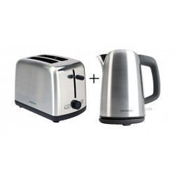 Kenwood Multi Pack - Scene Kettle And Toaster (OWMP150001) - Black / Silver