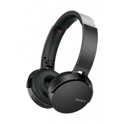 Sony Bluetooth Over-Ear Headset With Mic – Black