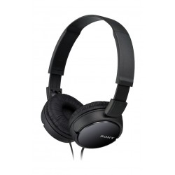 Sony Foldable Overhead Headset With Mic (MDR-ZX110/B) – Black