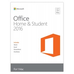 Microsoft Office Home & Student 2016 for Mac - 1 User (GZA-00551)