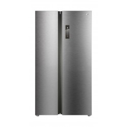 TCL 17.1 CFT Side by Side Refrigerator (TRF-520WEXPSA) - Silver
