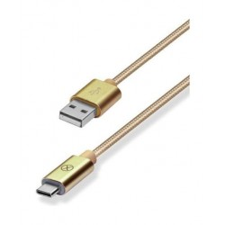 Xcell USB A To USB Type-C Cable - Gold